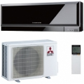 Инверторный кондиционер Mitsubishi Electric MSZ-EF42VEB/MUZ-EF42VE Black