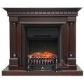 Каминокомплект Royal Flame портал Dallas темный дуб с очагом Fobos/Majestic