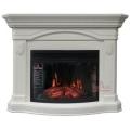 Каминокомплект Royal Flame портал Sydney белый дуб с очагом Dioramic 25 FX