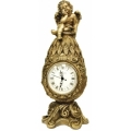 Каминные часы Фаберже с ангелом RF2050AB