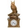 Каминные часы Сова на книгах RF2031AB