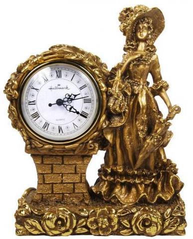 Каминные часы Леди RF2001AB.jpg