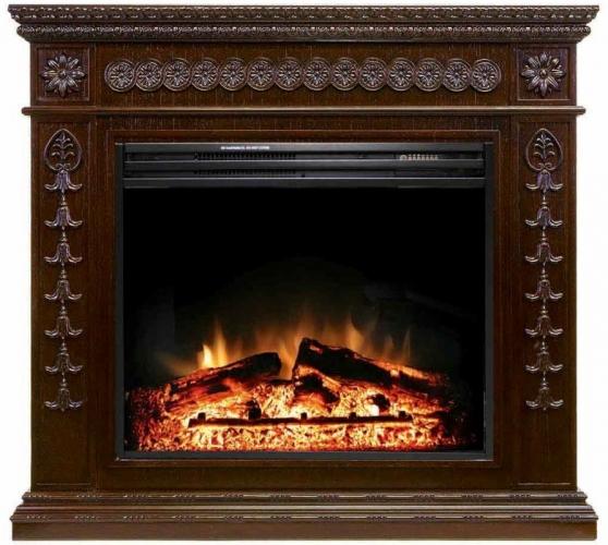 Royal Flame портал Milan темный дуб.jpg