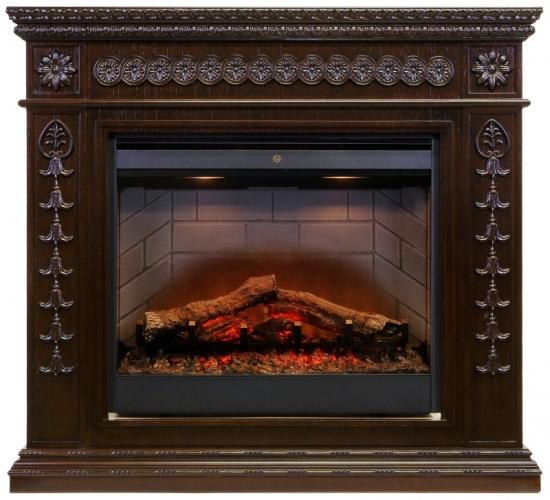 Royal Flame портал Milan темный дуб-2.jpg