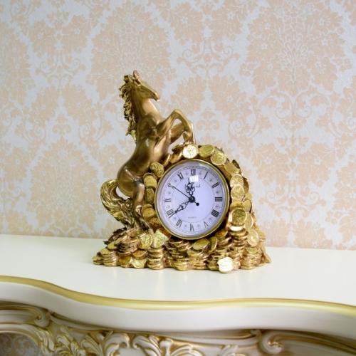 Каминные часы Деньги в дом RF2047AB-1.jpg