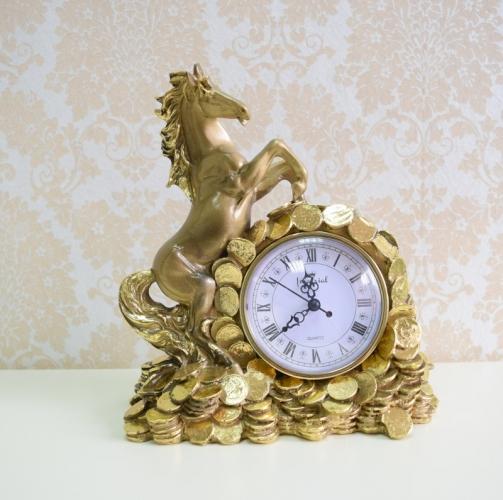 Каминные часы Деньги в дом RF2047AB-2.jpg