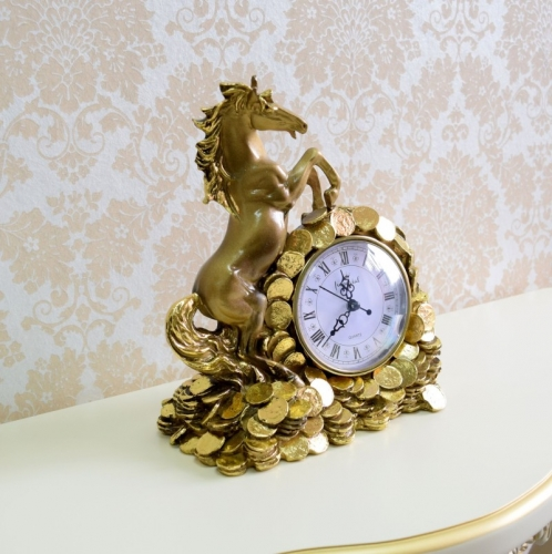 Каминные часы Деньги в дом RF2047AB-3.jpg