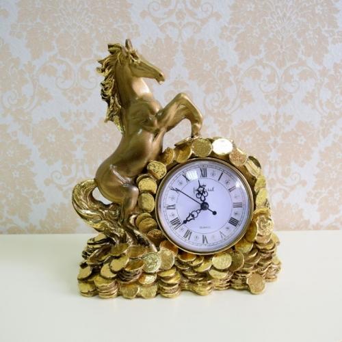Каминные часы Деньги в дом RF2047AB-4.jpg
