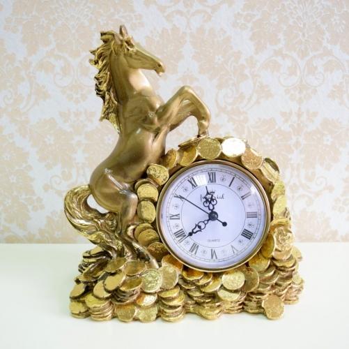 Каминные часы Деньги в дом RF2047AB-5.jpg