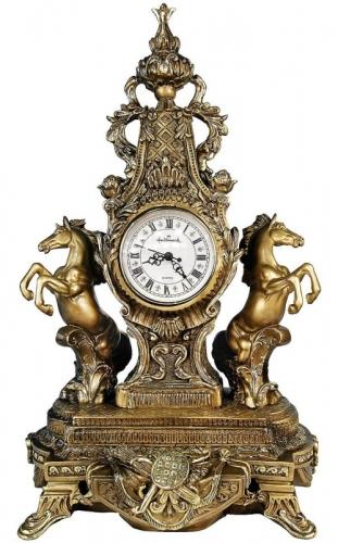 Каминные часы Дворцовые с лошадьми RF2027AB.jpg