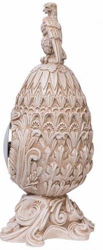 Каминные часы Фаберже Державные RF2053 IV (Белая коллекция)-2.jpg
