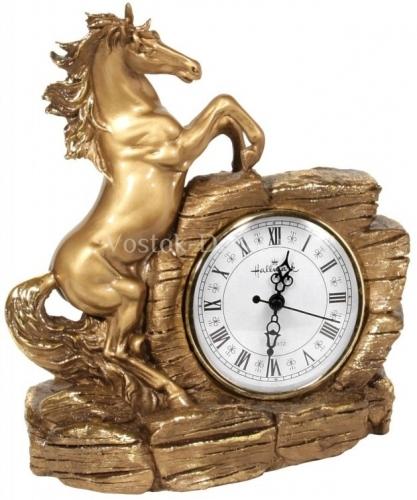 Каминные часы Конь Арго малый RF2057AB.jpg