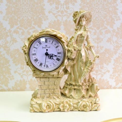 Каминные часы Леди RF2001 IV (Белая коллекция)-1.jpg