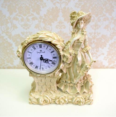 Каминные часы Леди RF2001 IV (Белая коллекция)-2.jpg