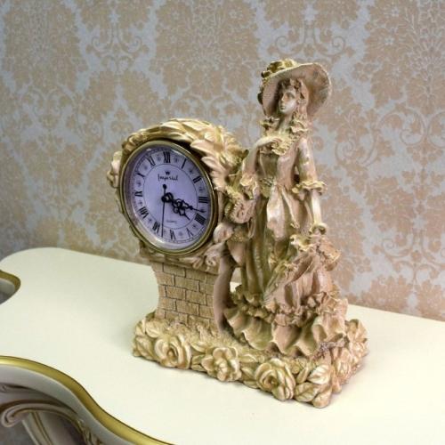 Каминные часы Леди RF2001 IV (Белая коллекция)-4.jpg