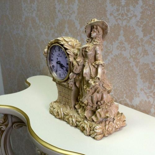 Каминные часы Леди RF2001 IV (Белая коллекция)-5.jpg