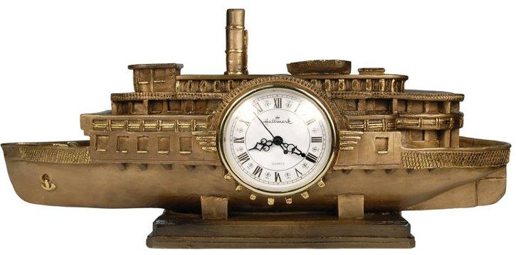 Каминные часы Пароход River Queen RF2046AB.jpg