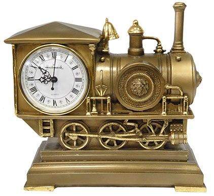 Каминные часы Паровоз RF2034AB.jpg