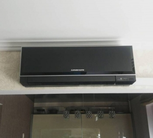 Установка кондиционера Mitsubishi Electric MSZ-EF35VEB/MUZ-EF35VE Black
