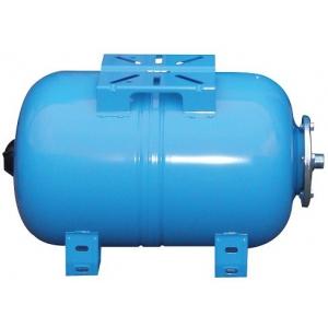 Мембранный бак для водоснабжения горизонтальный Wester  WAO100