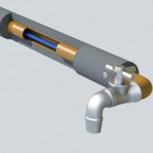 Комплект саморегулирующегося кабеля 17HTM2-CT Samreg-25 м пищевой в трубу с вилкой