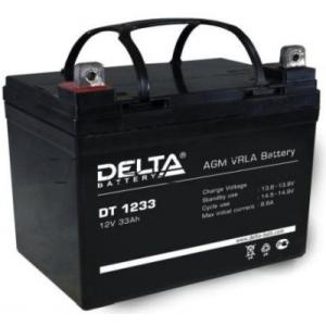 Аккумуляторная батарея Delta DT 1233 (12V/33Ah)