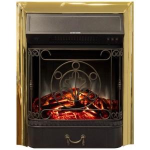 Электрический очаг RealFlame Majestic Lux Brass