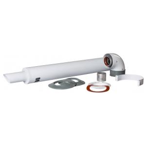 Коаксиальный дымоход для котла Fondital 1,0 м