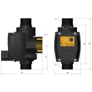 Блок управления насосом Unipump ТУРБИ-M3 (1,5-3 бар)
