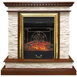 Каминокомплект Royal Flame портал Calgary с очагом Fobos/Majestic