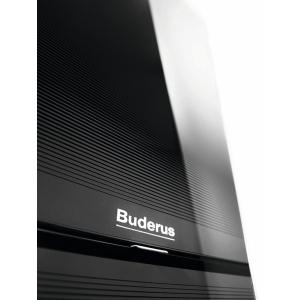 Конденсационный газовый одноконтурный котел Buderus Logamax plus GB172-24 iW белый/черный
