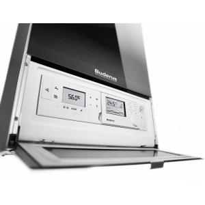 Конденсационный газовый одноконтурный котел Buderus Logamax plus GB172-35 i H черный/белый
