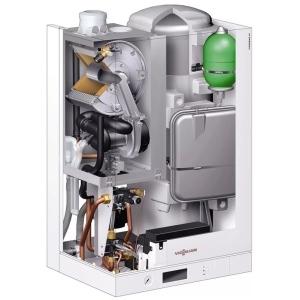 Конденсационный газовый котел Viessman Vitodens 111-W B1LD031 35 кВт с бойлером на 46 л