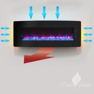Настенный электрический камин InterFlame Relax 48