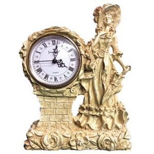 Каминные часы Леди RF2001 IV (Белая коллекция)