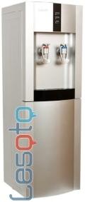 Напольный кулер с холодильником Lesoto 16 LB/E silver