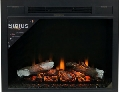 Электрический очаг InterFlame Sirius 30 LED FX Black/Brass