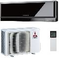Инверторный кондиционер Mitsubishi Electric MSZ-EF25VEB/MUZ-EF25VE Black