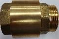 Обратный клапан Verpat 1 1/4 НР х 1 1/4 ВР (толкатель латунь)