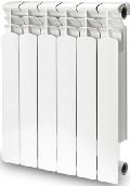 Биметаллический радиатор Alcobro 500/80 1 секция