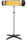 Инфракрасный обогреватель ламповый NeoClima Shaft-2,0 с телескопической подставкой