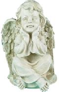 Статуэтка Ангел-Хранитель RF1054IV (Белая коллекция)