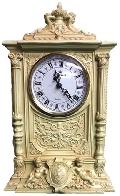 Каминные часы Вероника RF2033 IV (Белая коллекция)