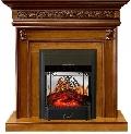 Каминокомплект Royal Flame портал Valletta Темный Орех, Темный Дуб с очагом Fobos/Majestic/Electrolux